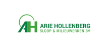 Logo Arie Hollenberg sloop & milieuwerken BV