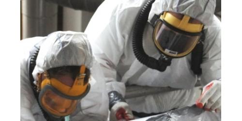Afhankelijke adembescherming voor asbest biedt onvoldoende bescherming