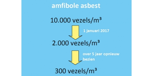 Gevolgen SER-advies verlaging grenswaarden voor amfibole asbest