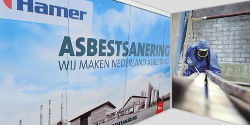 Hamer verwijdert alle typen asbest in alle risicoklassen
