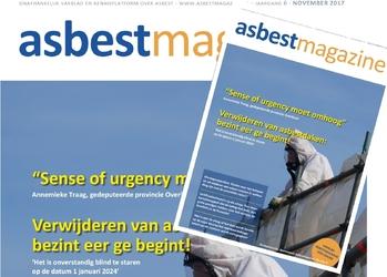 Nieuwe editie vakblad Asbestmagazine verschenen