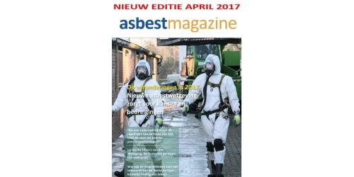 Nieuwste editie vakblad Asbestmagazine          Online-abonnees kunnen hem nu al lezen!