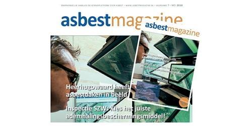 Nieuwste uitgave vakblad Asbestmagazine