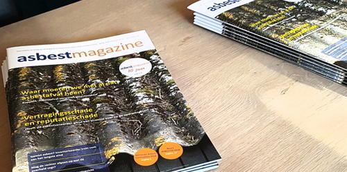 Oktober-editie vakblad Asbestmagazine verschenen - online-abonnees kunnen hem nu al lezen!