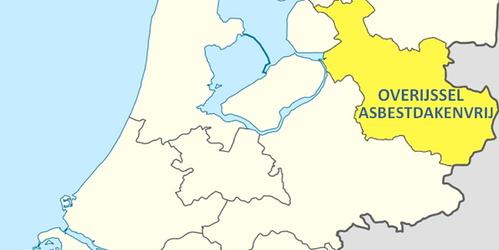 Prijsvraag 'Maak Overijssel asbestdakenvrij' goed voor € 10.000,-