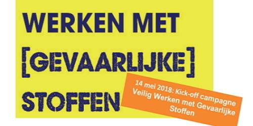 Ruim één miljoen Nederlanders te maken met gevaarlijke stoffen op het werk
