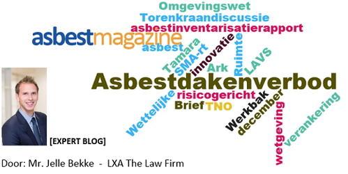 Stand van zaken wetgeving asbest