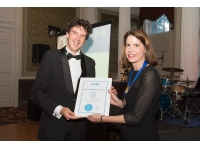 Erik van Deurssen wint Thomas Bedford Memorial Prize met promotieonderzoek naar reductie van blootstelling aan kwartsstof in de bouw