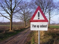 Sanering asbestwegen in volle gang