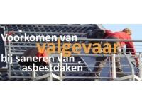 Valgevaar bij sanering asbestdaken voorkomen