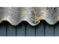 Vereenvoudigde wijze bodemsanering onder gebouwen met asbestdaken zonder afwateringsgoot